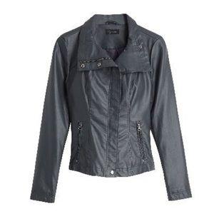 *NWT* RD Style 'Rhonda' Vegan Leather Moto Jacket